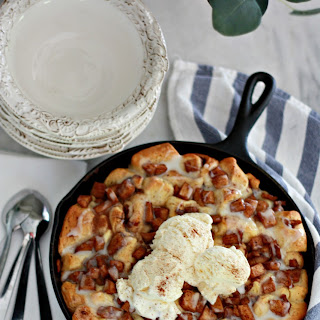 Apple Fritter Skillet Bake Recipe