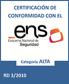 Esquema Nacional de Seguridad(ENS) - スペイン