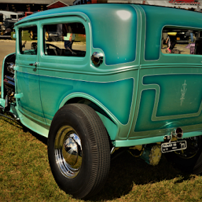 60's Paint style  by Benito Flores Jr - Transportation Automobiles ( austin, lone star, texas, car show )