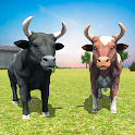 Angry Bull Family Sim: Wild Animal Survival Games icon