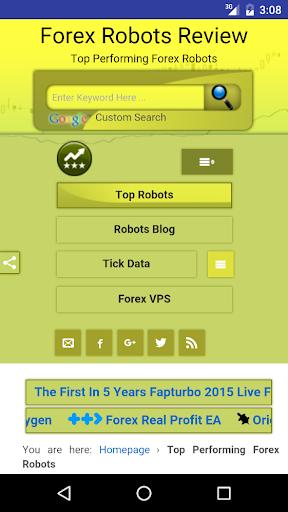 Forex Robot Reviews
