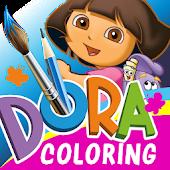 Tải Dora Coloring APK