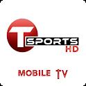 T Sports Live HD - Football Live, Cricket Live icon