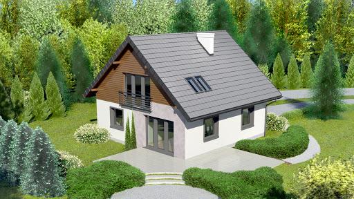 projekt Dom przy Cyprysowej 2 bis