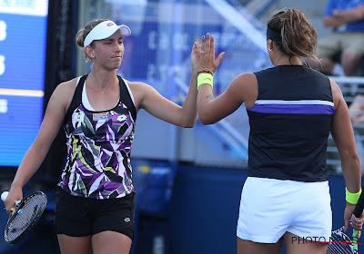 Mertens en Sabalenka staan in achtste finales dames dubbelspel