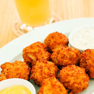 Fried Cheese Balls.