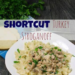 Shortcut Turkey Stroganoff.