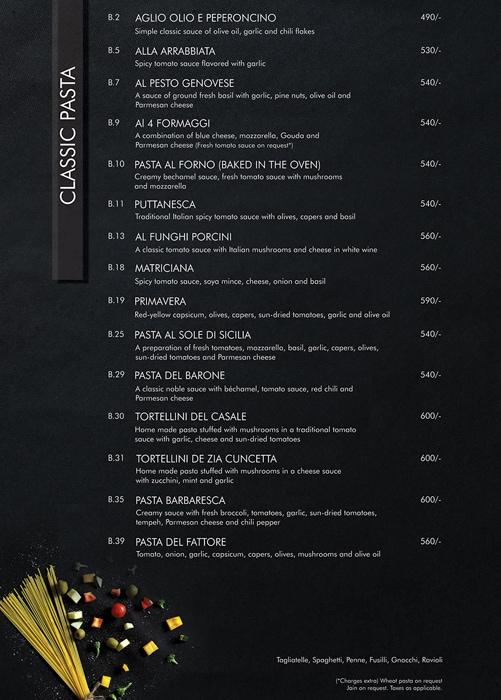 Little Italy menu 15