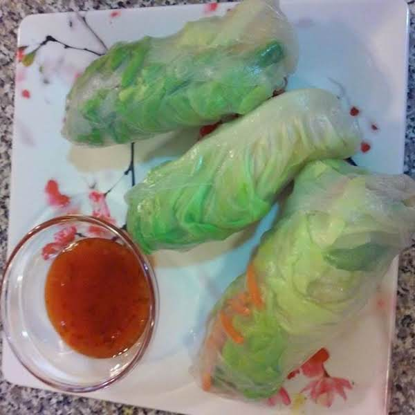 Gaby's Rice Paper Wraps Recipe