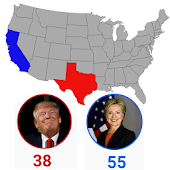 Live Map US Elections 2016