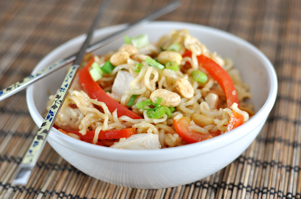 Kicked Up Ramen Noodles – Kung Pao Style Recipe