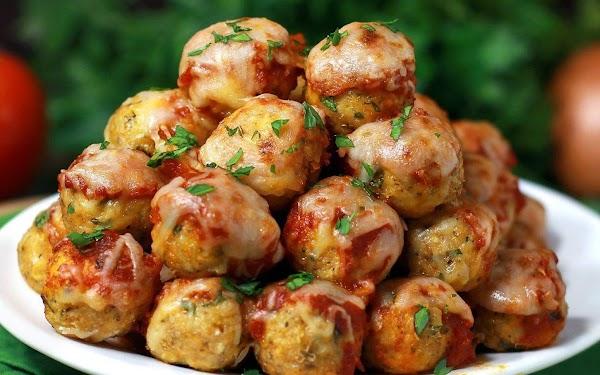 Chicken Parm Balls Recipe
