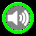 Control de bloqueo de volumen icon