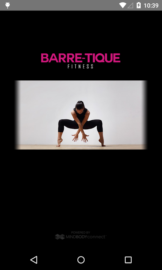 BARRE-TIQUE FITNESS- screenshot