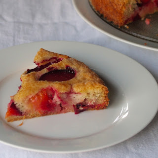 Plum Cake With Lime and Rose