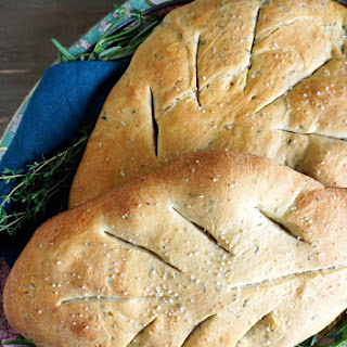 Herbed Flatbread – Fougasse From Provence Recipe