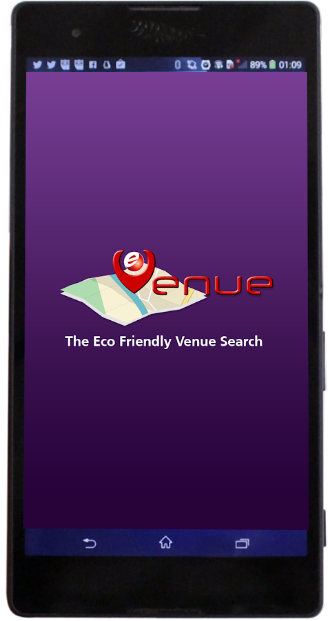 Evenue- screenshot