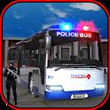 Police Bus Cop Transporter icon