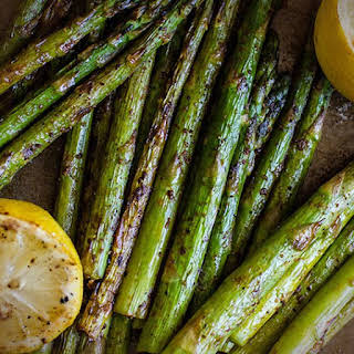 Smoked Paprika Grilled Asparagus.