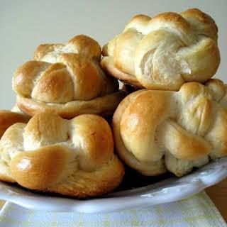 Kalács, the Hungarian Sweet Braided Bread.