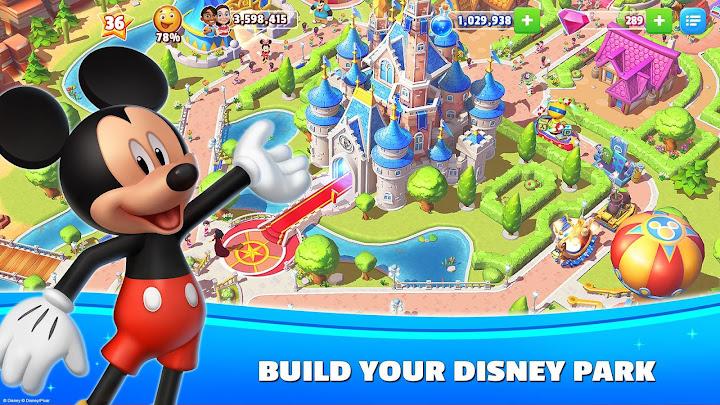 Disney Magic Kingdoms: Build Your Own Magical Park Android App Screenshot