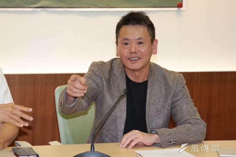 TVBS民調指出,國民黨立委林為洲(圖)若脫黨參選新竹縣長,獲得支持度24%,僅次於徐欣瑩的27%。(資料照,顏麟宇攝)