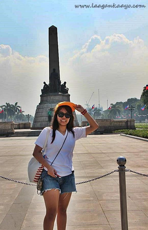 Laagan Kaayo at Luneta Park