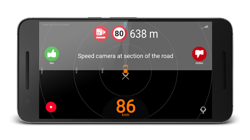 Speed camera radar (PRO) v2.1.1 [Paid]