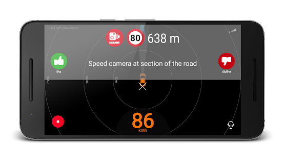 Speed camera radar (PRO) Screenshot