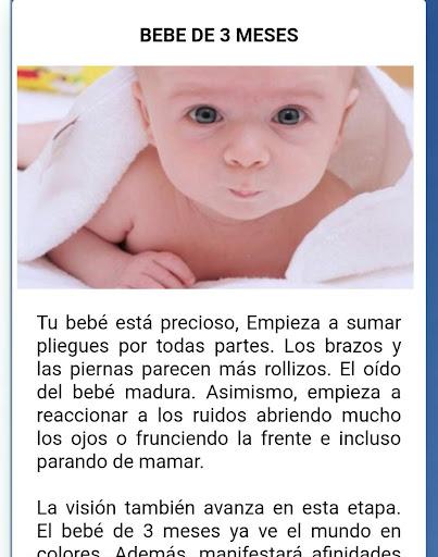 desarrollo y cuidado de bebes mes a mes concejos  Wallpaper 2