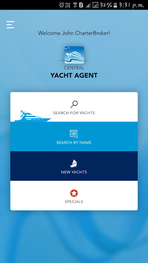 Yacht Charters- screenshot