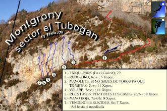 Photo: Girona - MONTGRONY - El Tubogan