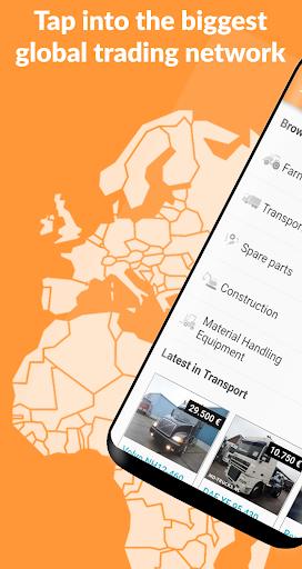 Tradus - Heavy Machinery Marketplace 1.4 screenshots 2