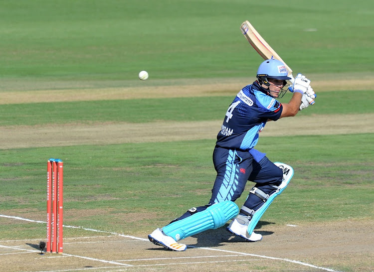 Aiden Markram of the Titans during the 2017 Momentum One Day Cup match between The Multiply Titans and Warriors at Supersport Park, Centurion South Africa on 31 March 2017.