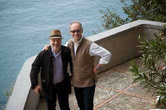 Photo: Andre Aciman & Antonio Sersale