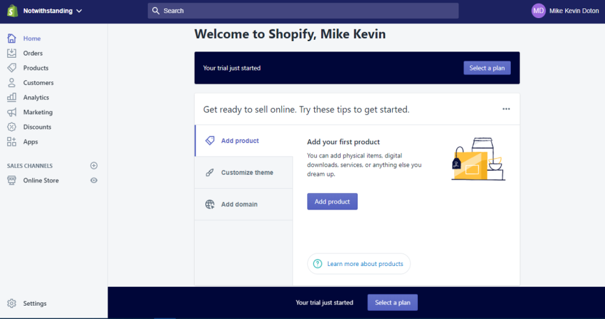 shopify-ecommerce-home