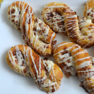 Cinnamon Cream Cheese Twists