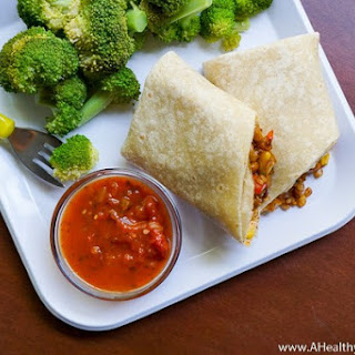 Pinto Bean & Cheese Freezer Burritos