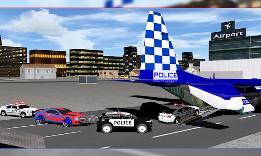 Policejní robotní letadlo - náhled