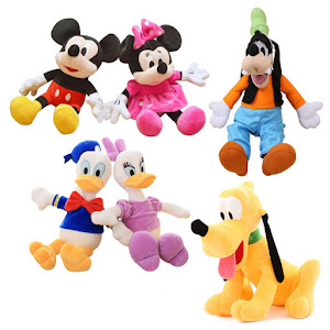 0 Set 6 jucarii de plus Disney oferta 0