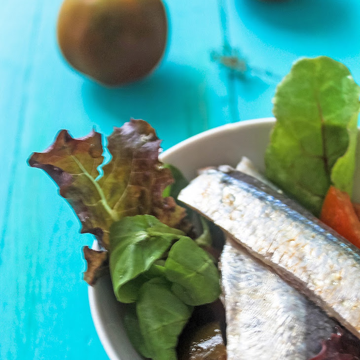 Marinated Sardines and Kumato Salad