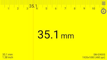 Screenshot of Smart Ruler