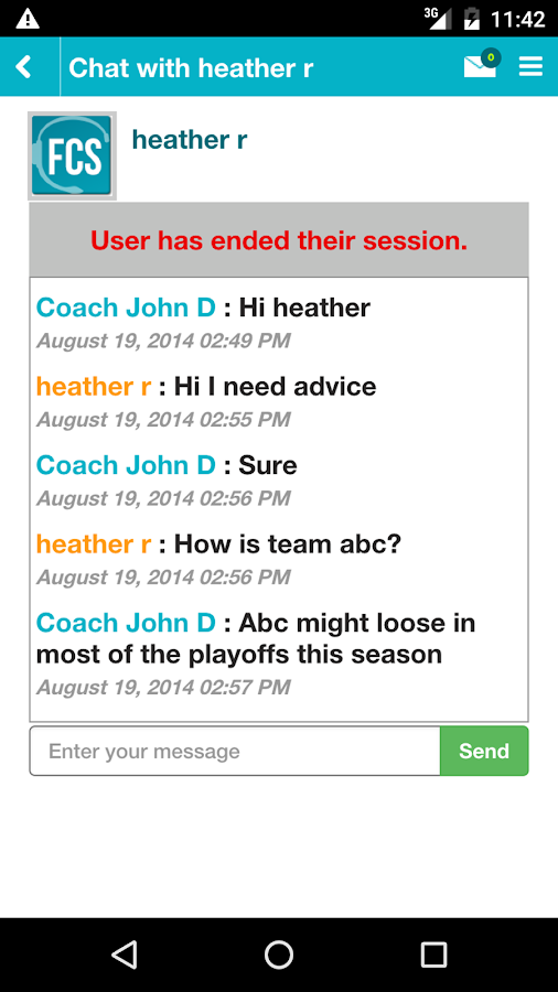 Fantasy Coaching Staff- screenshot
