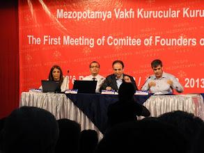 Photo: The Mezopotamya Foundation conference devoted to establishing the first Kurdish language university in North Kurdistan (Turkey), Diyarbakir