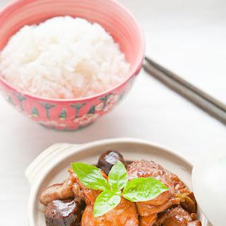 Braised Chinese Chestnut Chicken.
