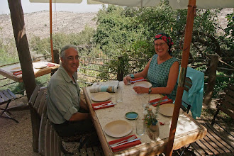 Photo: brunch in the hills outside jerusalem