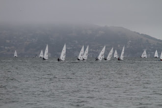 Photo: The sailors have to battle strong tides, currents, ebbs and floods, as well as waves, fog, and each other!