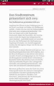 Wochenzeitung - extra screenshot 2