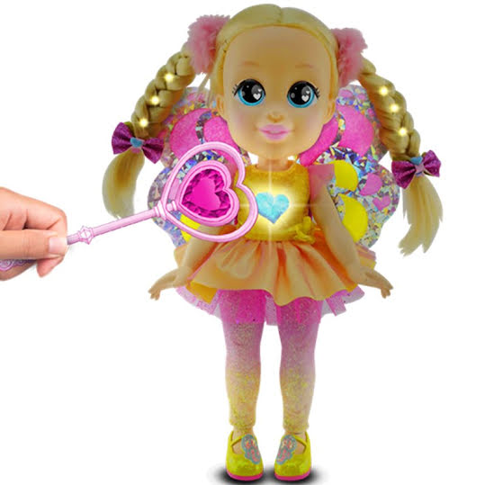 Love Diana Light up Fairy Feature Doll Pack