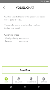 Yodel parcel manager- screenshot thumbnail